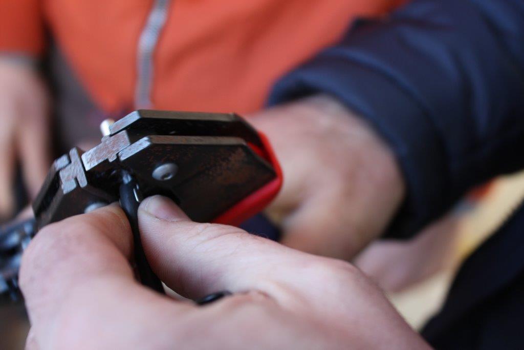 Przycinanie kabla