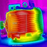 Badanie termowizyjne silnika
